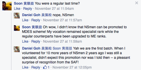 Screen capture from Dr Daniel Goh's Facebook page