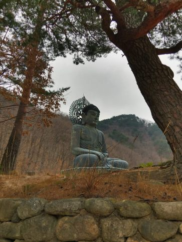 The Great Unification Buddha in the National Park is the largest seated bronze Buddha statue in the world.