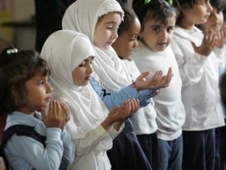 Photo of Muslim children from MediaDiversityUK