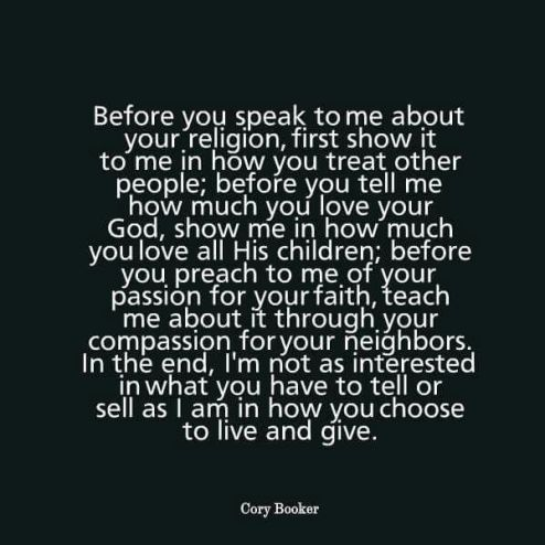 Quote by Cory Booker.